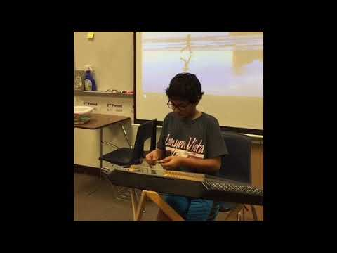 Most talented seventh grader at Canyon Vista middle school