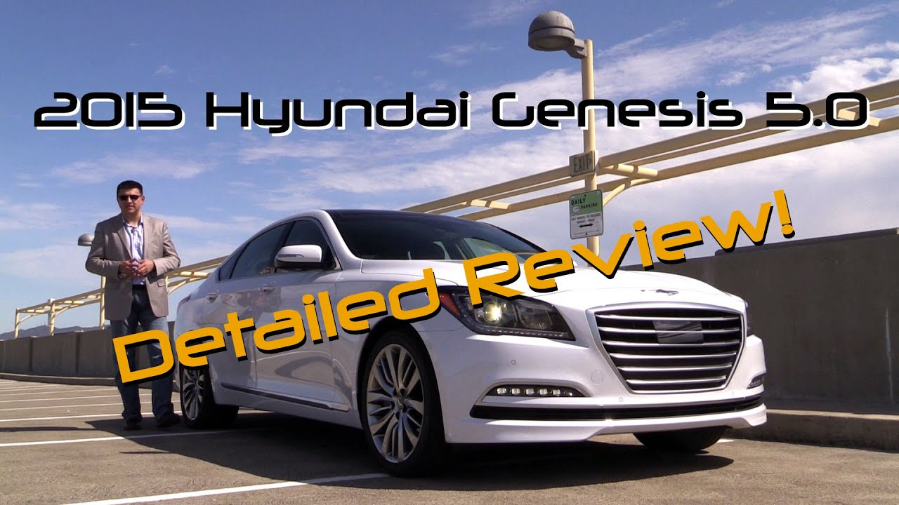 2015 hyundai genesis 5 0 detailed review and road test youtube. Black Bedroom Furniture Sets. Home Design Ideas