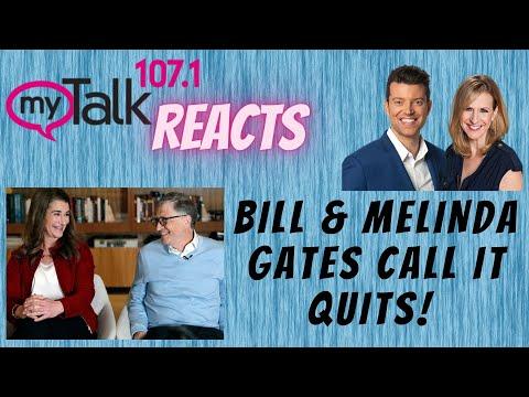 #billgates Bill & Melinda Gates Call It Quits - MyTalk Reacts