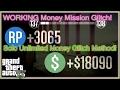 GTA 5 Online UNLIMITED *SOLO* Money Mission Glitch! Money Glitch WORKING! Max Mission Money!