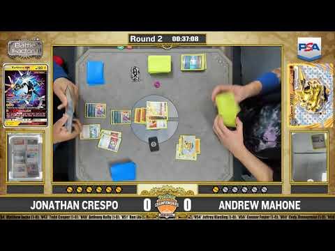 Andrew Mahone Vs Jonathan Crespo Swiss R2 Charlotte Pokémon Regional Championships