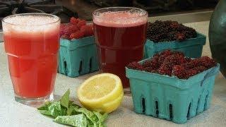 How to Make Fresh Fruit Soda
