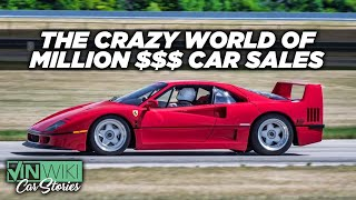 Here's what it's really like to sell a Ferrari F40