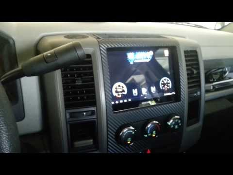 Galaxy Tab In Truck 2012 Dodge RAM