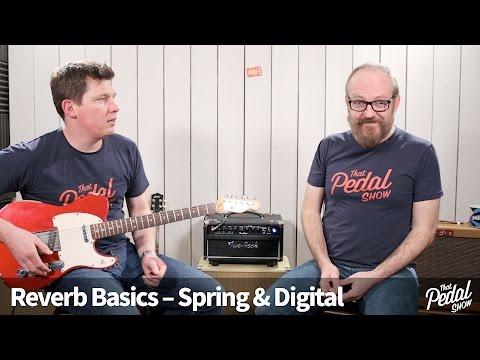 That Pedal Show - Reverb Basics, Amp Spring, Amp Digital & Pedals