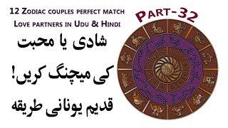 12 Zodiac Couples Perfect Match | Love Partners in Udu & Hindi
