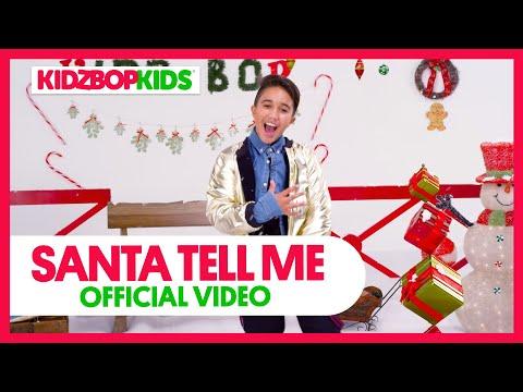 KIDZ BOP Kids - Santa Tell Me (Official Music Video) [KIDZ BOP Christmas]