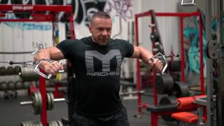 How to Perform a Standing Cable Chest Press