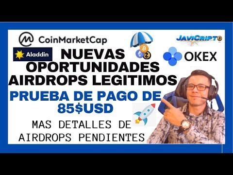 Coinmarketcap Nuevo Airdrop