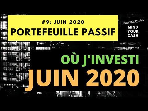 BOURSE: Où j'investi MAINTENANT ? JUIN 2020.