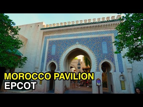 [4K] Morocco Pavilion - World Showcase : Epcot (Orlando, FL)
