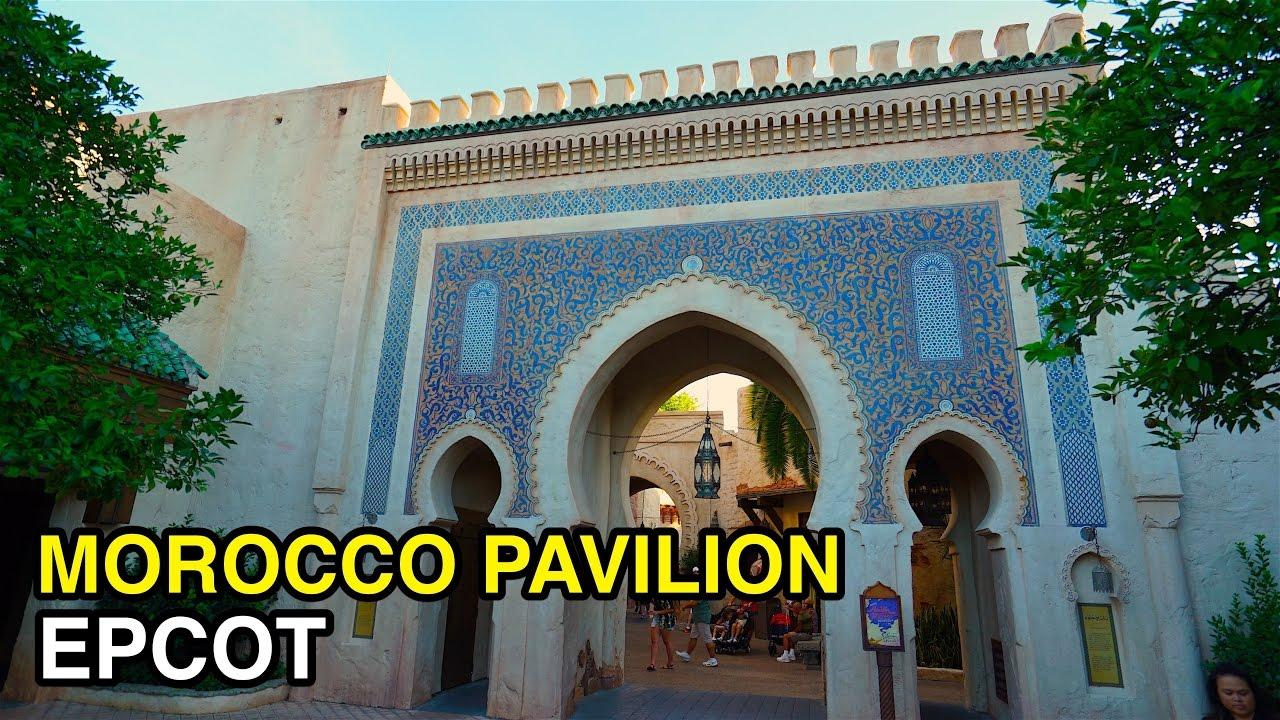 4k Morocco Pavilion World Showcase Epcot Orlando Fl Youtube