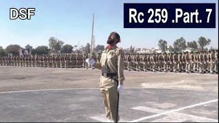 Pakistan Army Core DSF RC 259 Part No 7    DSF Videos    Army Prade Video