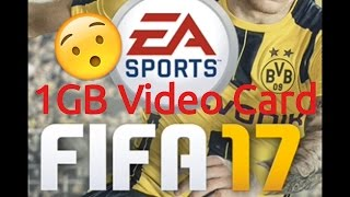FIFA 17 Low End PC Test + FPS