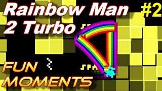 Rainbow Man II Turbo - LES MAUDITS PIKACHU - Moments Fun/Commentaire Français [FR]