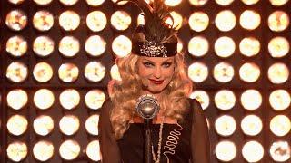Katarzyna Glinka jako Fergie Twoja twarz brzmi znajomo