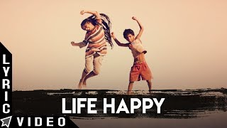 Life Happy Lyric Video | Odu Raja Odu