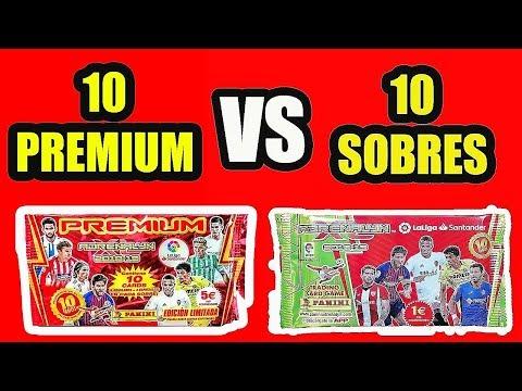 ¿QUÉ es MEJOR? - 10 SOBRES PREMIUM vs. 10 SOBRES NORMALES ADRENALYN XL 2019 Liga Santander