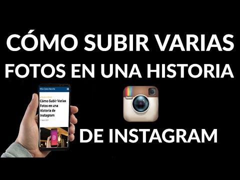 Cómo Subir Varias Fotos en una Historia de Instagram