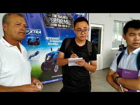 Встреча с представителями завода Dongfeng