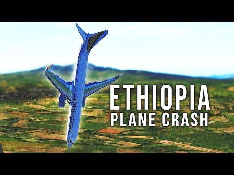 Ethiopia Airlines Flight 302 Crash - B737 MAX 8 - Crash right after takeoff [SIMULATION]