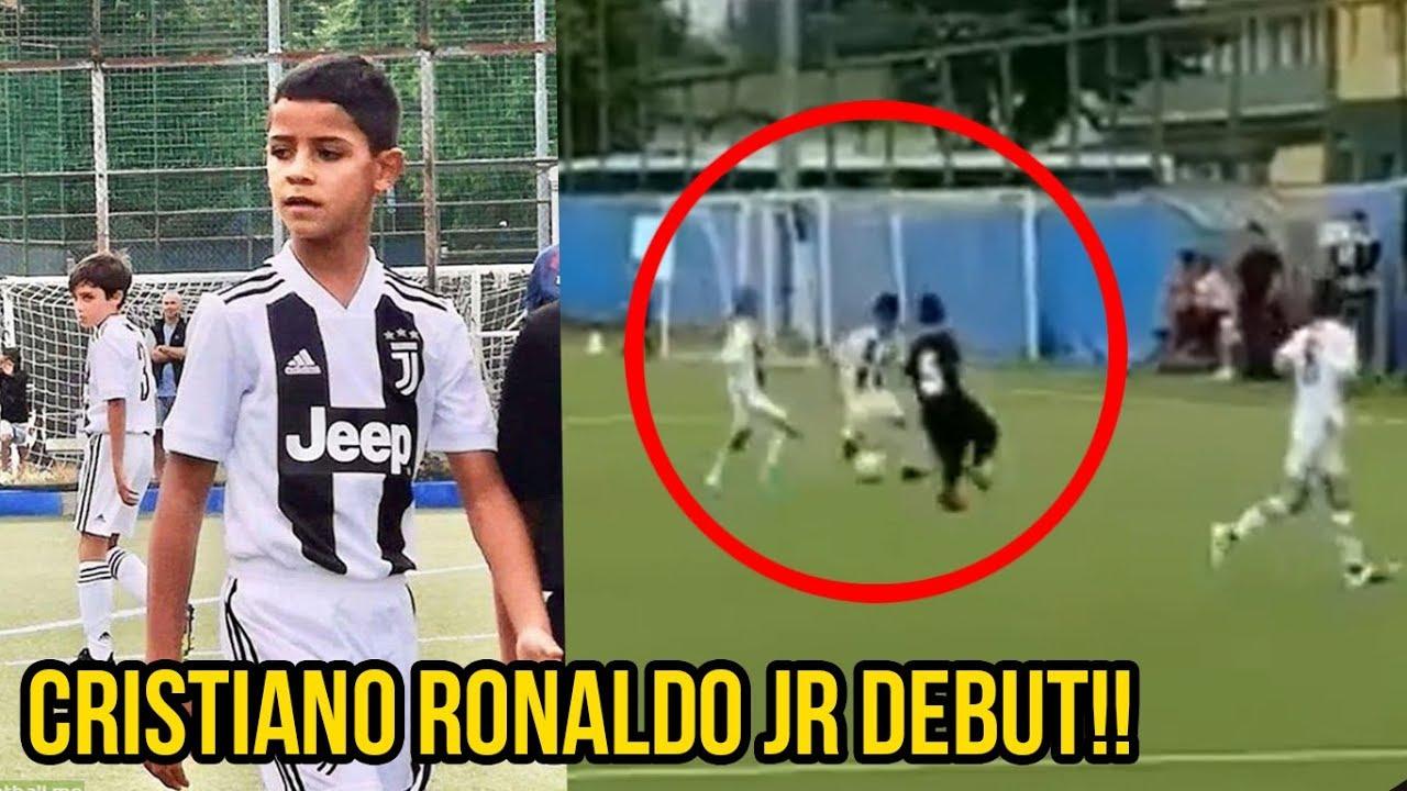 Cristiano Ronaldo Jr Debut Fur Juventus