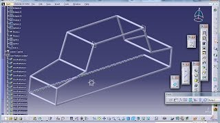 Catia V5 Tutorial|knowledgeware|how To Use Power Copy & User Feature|part 2