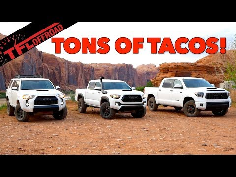 2019 Toyota TRD Pro Tacoma 4Runner and Tundra Headline FJ Summit
