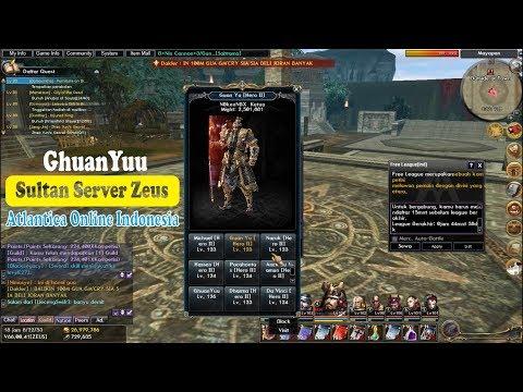GhuanYuu salah satu Sultan di Server ZEUS - Atlantica Online Indonesia