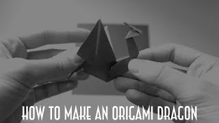 How To Make An Origami Dragon In 8 Minutes!