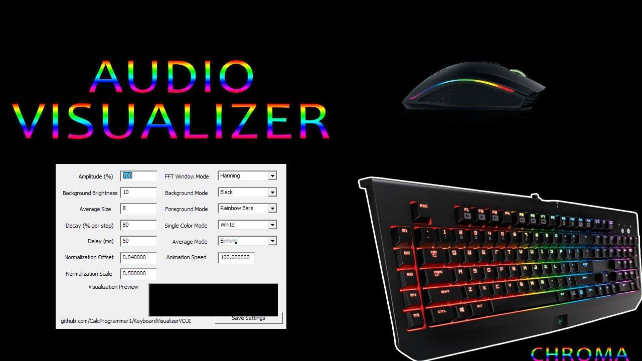  How to use Audio Visualizer on CHROMA Keyboard Tutorial 