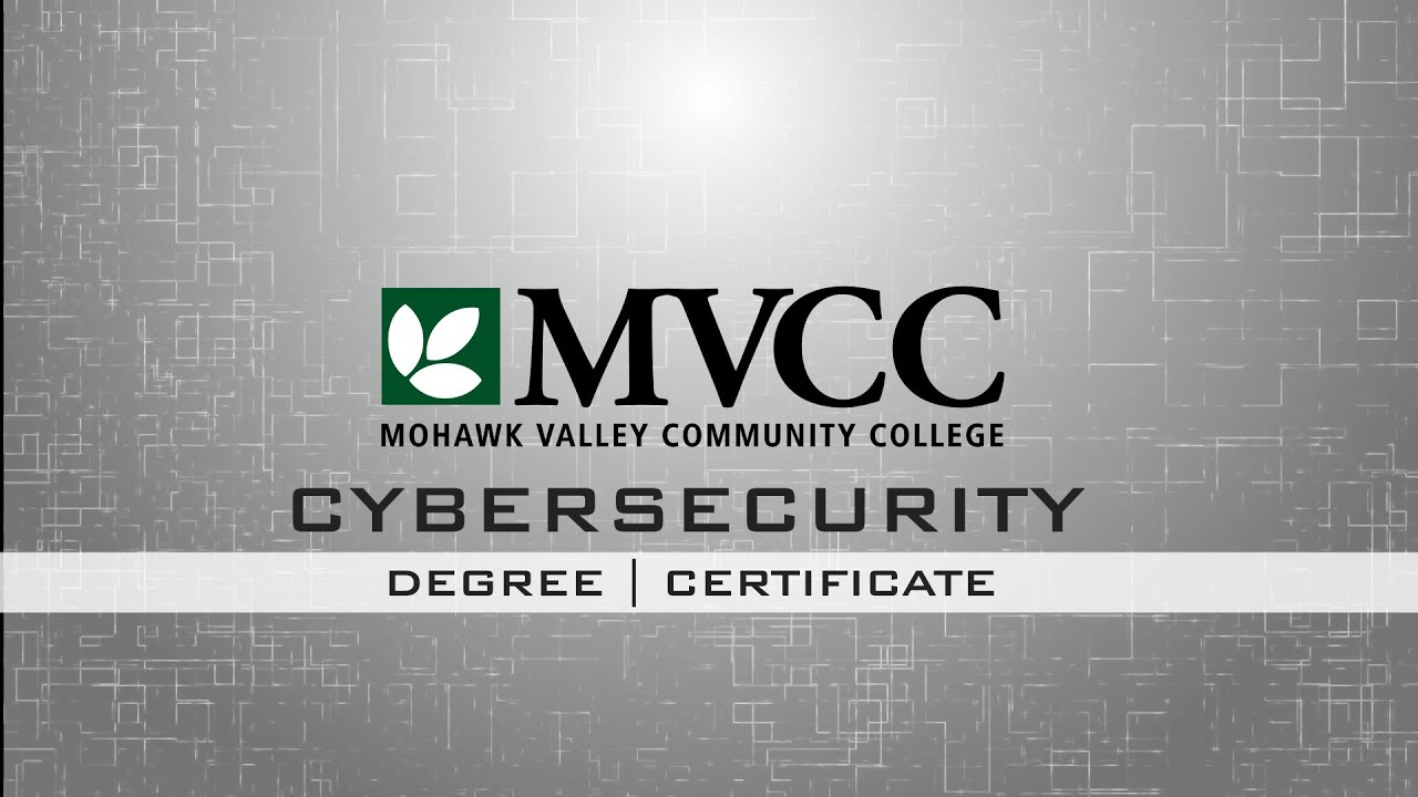 Mvcc cybersecurity degree and certificate youtube mvcc cybersecurity degree and certificate xflitez Choice Image