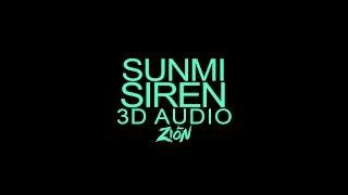 SUNMI(선미) - Siren(사이렌) (3D Audio Version)