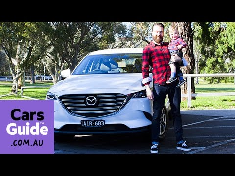 Mazda CX 9 Touring AWD 2016 review road test video