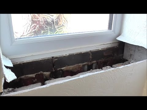 Why MDF is no good. Replacing water damaged window cill