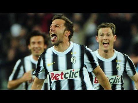 La punizione di Del Piero (Juventus-Lazio 2-1)