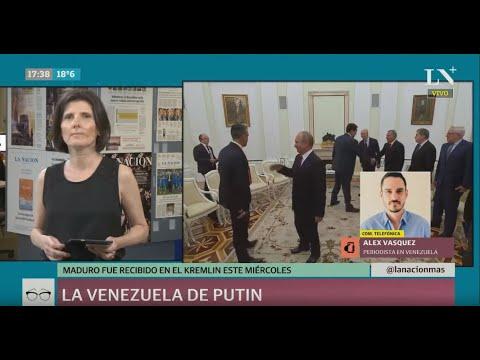 Venezuela-Rusia: la reunión entre Nicolás Maduro y Vladimir Putin