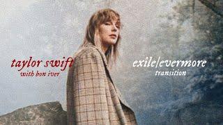 Taylor Swift, Bon Iטer - exile/evermore (transition — lyric visualizer)