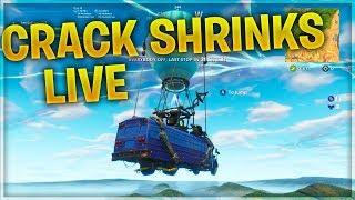 FORTNITE CRACK IN SKY DISAPEARING SHRINKS LIVE / FORTNITE PORTAL SHRINKS