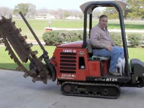 ht25 ditch witch trencher 1 youtube rh youtube com Ditch Witch HT25 Specs Ditch Witch 410SX