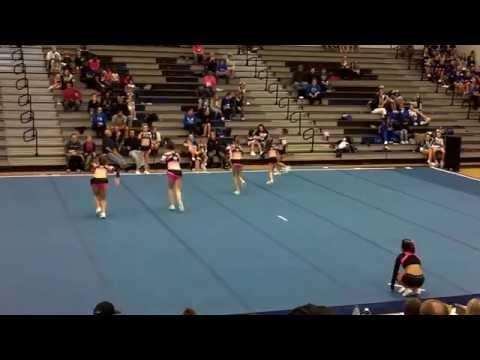 Cheer Illusion All Stars @ Winter Warm-Up - Maiden High School