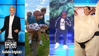 Ellen's 2017 Rewind, Military Reunions, Tavaris, Tracee Ellis Ross, and Holidays in Dance