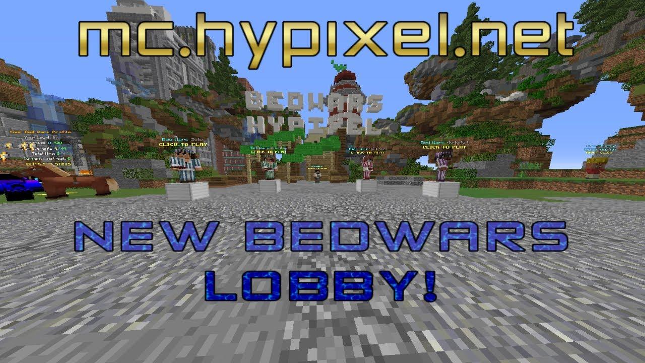 minecraft hypixel bedwars lobby download