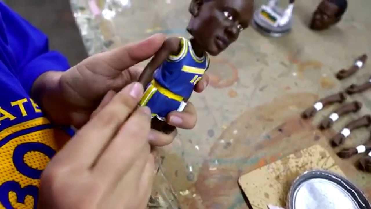 d50f0c28472 The Warriors made a 7-foot-7 Manute Bol bobblehead doll