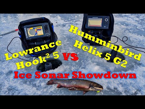 Hook2 5 Lowrance Vs Humminbird Helix 5 G2: Ice Fishing Sonar Showdown