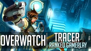 TRACER GAMEPLAY - Overwatch - Competitive Gameplay