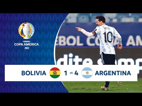 Download HIGHLIGHTS BOLIVIA 1 - 4 ARGENTINA   COPA AMÉRICA 2021   28-06-21