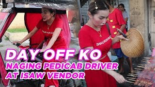 Vlog 6: DAY OFF: PEDICAB DRIVER & ISAW VENDOR