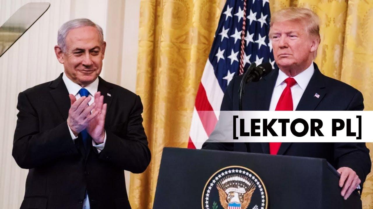 D. Trump i B. Netanjahu ogłaszają plan pokojowy dla Bliskiego Wschodu [lektor PL]
