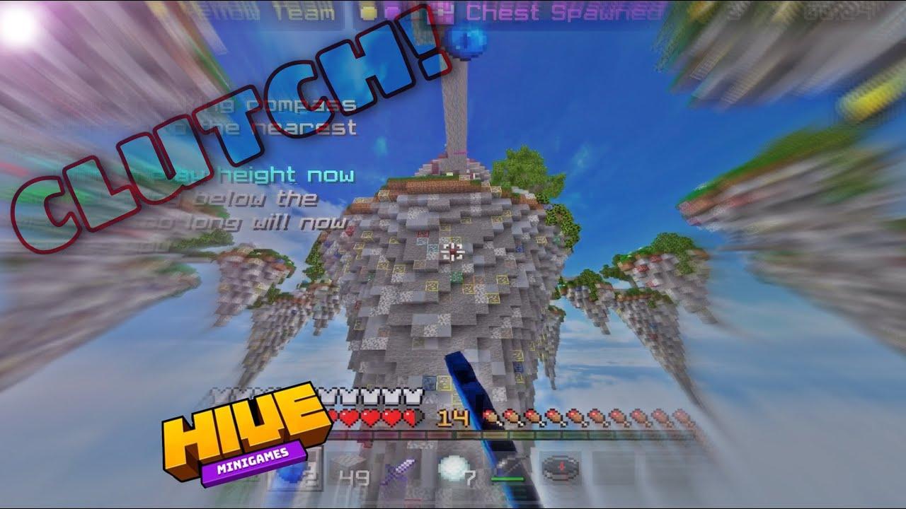"""Old Era"" | Hive Skywars Clutches & Combos | Minecraft bedrock"